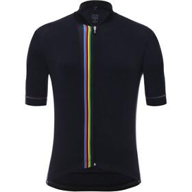 Santini UCI Bike Jersey Shortsleeve Men black